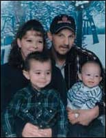 Photo of Colton Bryant and family