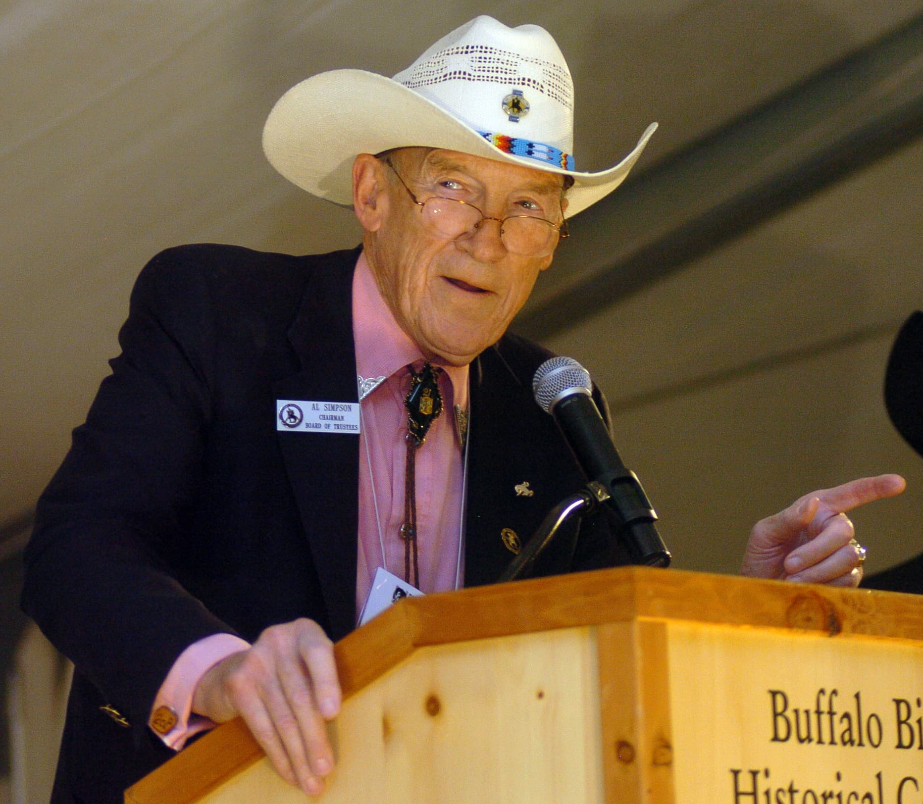 Al Simpson Feuds With Tea Party Over Wyoming Gop Wyofile