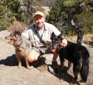 Author Brad Watson enjoys hiking, biking and other outdoor activities in Wyoming. (Photo courtesy UW/Nell Hanley —click to enlarge)