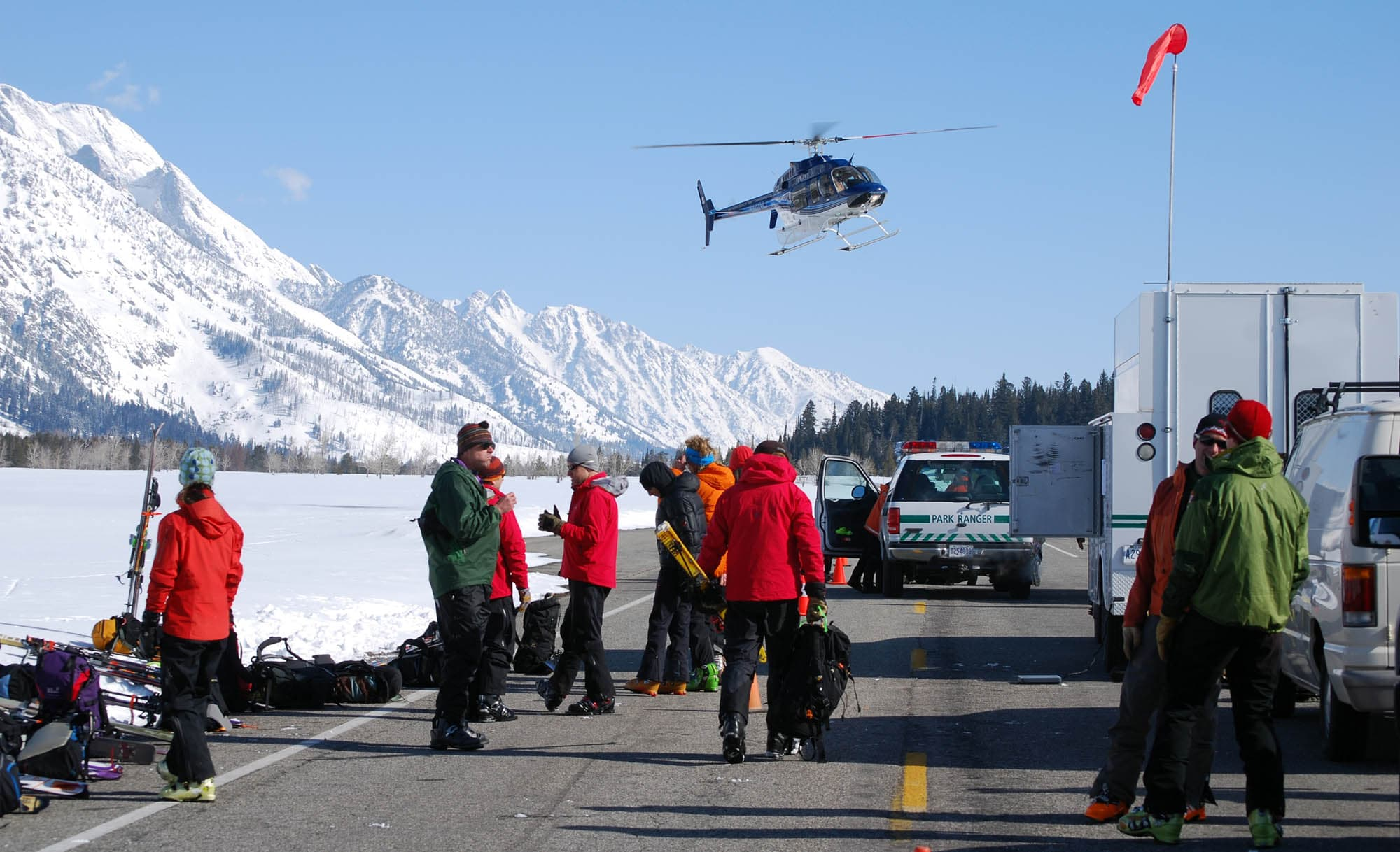 Search For Lost Teton Skiers Cost $115,000