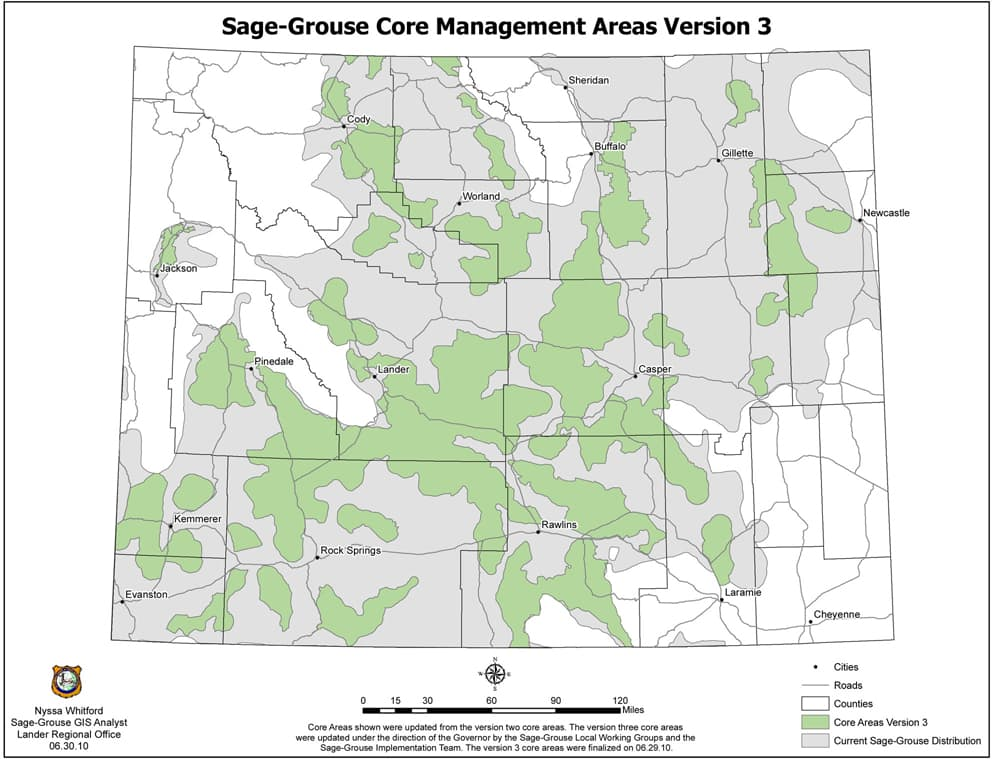 The approach of the fish and wildlife service to the conservation of sage grouse habitats