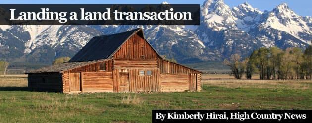 Landing a Land Transaction