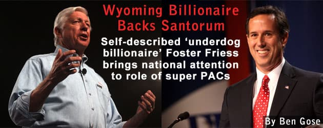 Wyoming Billionaire Backs Santorum