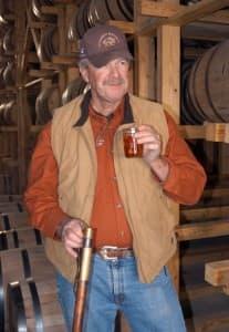 Wyoming Whiskey master distiller Steve Nally
