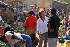 Alexander Fuller at Chirundu Market