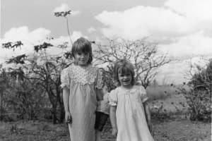 Alexandra Fuller and her sister