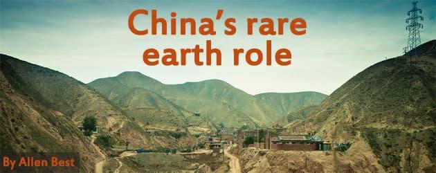 China's rare earth role