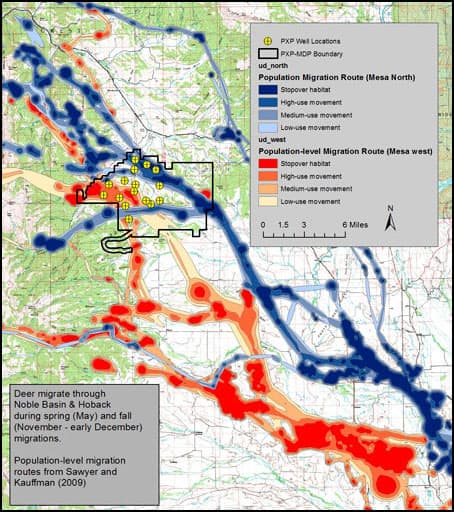 Deer-ly Departed Revelation Of Mule Deer U2018stop-overu2019 Behavior May Alter Drilling Plans In ...