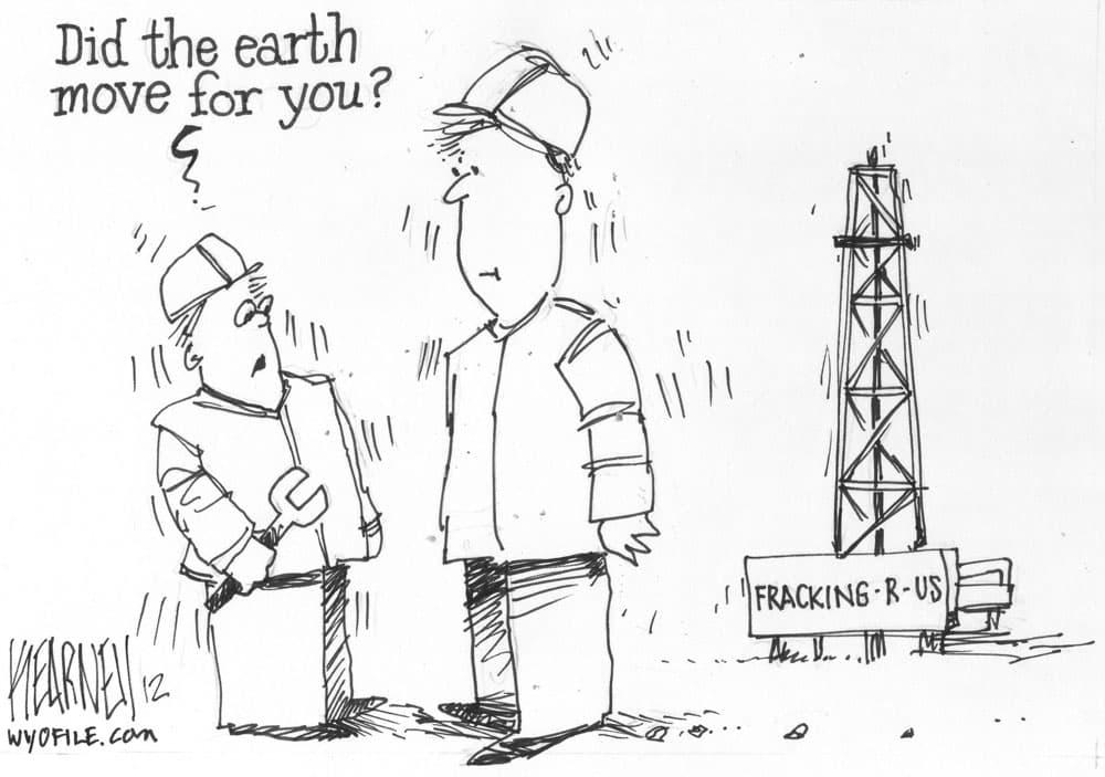 Fracking's Fault?