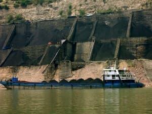 Chinese coal hopper