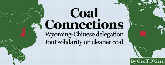 Coal Connections: Wyoming-Chinese delegation tout solidarity on cleaner coal