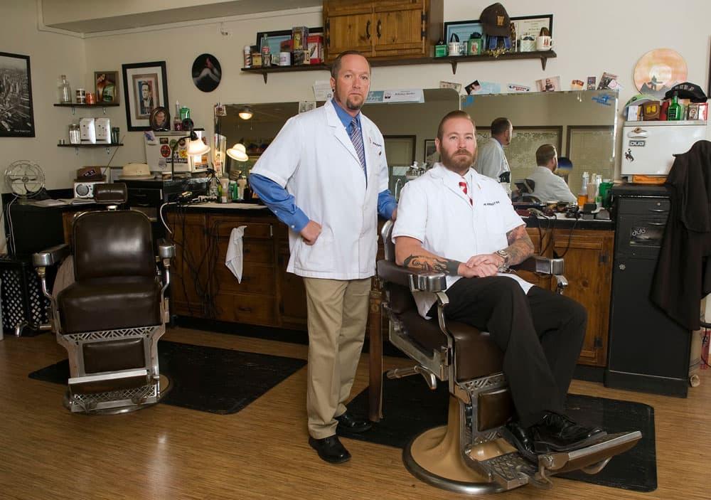 ... Barber in Jackson, Wyo. (WyoFile/Bradly J. Boner ? click to enlarge