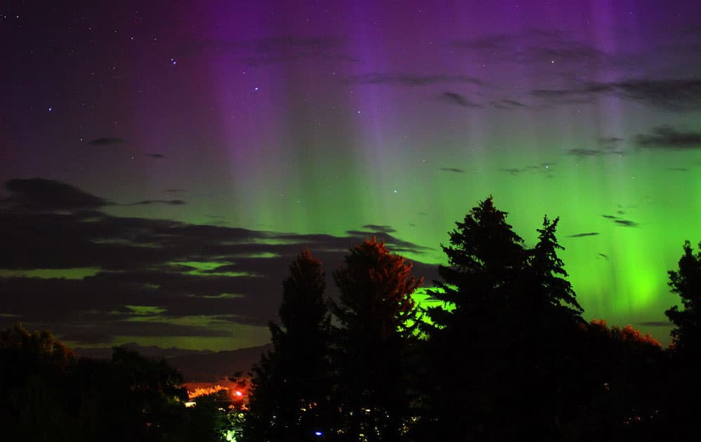 Aurora Over Cody