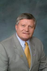 Sen. Hank Coe (R-Cody), chairman of the Senate Education Committee
