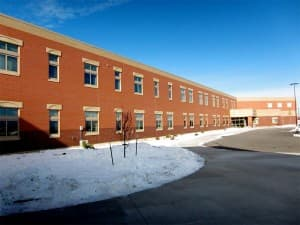 the newly constructed Big Horn Middle School/High School, which opened in Autumn 2011.