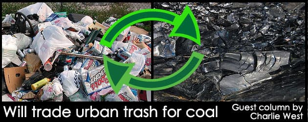 Will trade urban trash for coal