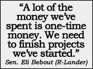 Eli Bebout quote