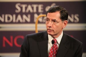Sen. John Barrasso speaks at the 2012 State of Indian Nations conference in Washington, D.C.