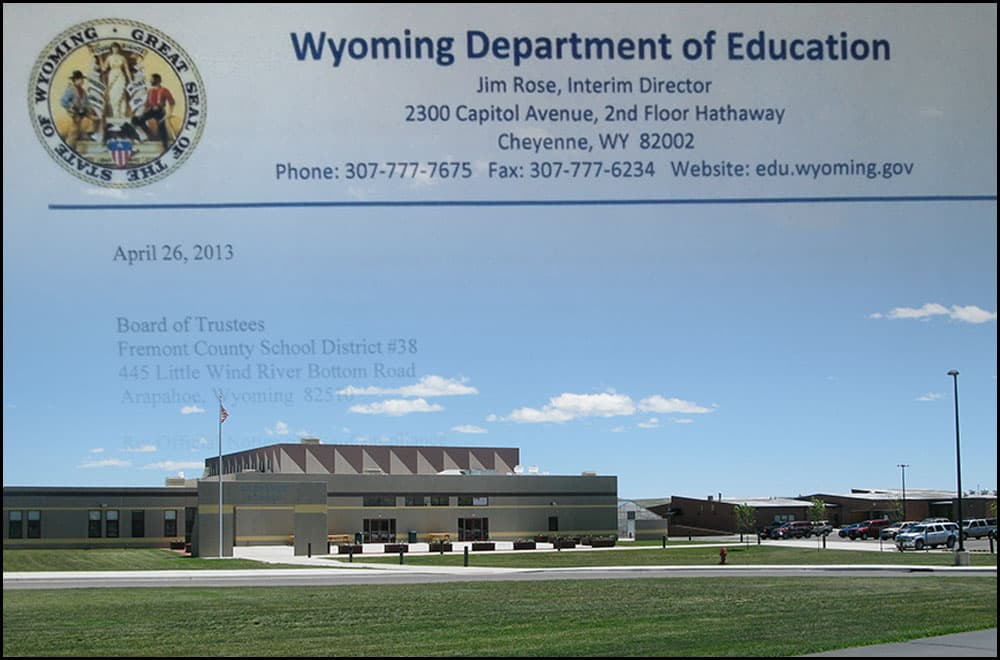 As academics improved at Fremont #38, the school district's business side faltered. With poor bookkeeping and commingled funds in a single bank account, it missed crucial audit deadlines and attracted unwanted attention from Cheyenne.