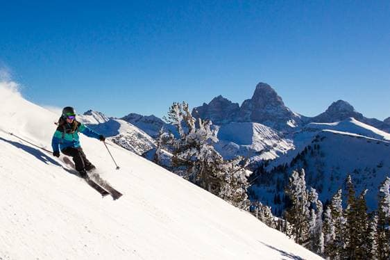 Grand Targhee opened Nov. 22. Other Wyoming resorts are scheduled to open this week and through December. (Photo Courtesy Cody Downard)