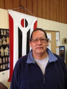 Marlin Spoonhunter, president of Wind River Tribal College. (Ron Feemster/WyoFile — click to enlarge)