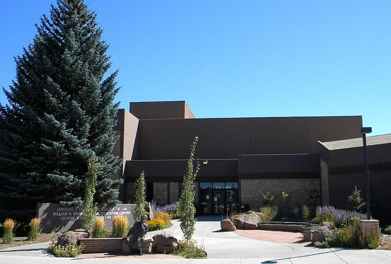 The University of Wyoming College of Law. (Wikimedia Commons- click to enlarge)