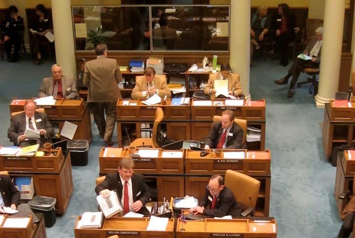 Wyoming legislature wraps up floor debate on budget