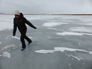 Wyoming ice skating