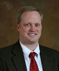 Jason Wood, Executive Vice President of Academic and Student Services at Central Wyoming College