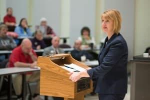 Stefani Hicswa, President of Northwest College