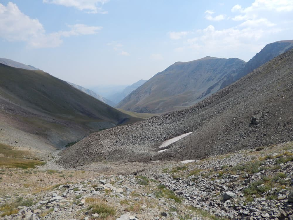 Upper Meadow Creek Basin, Francs Peak area