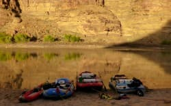 On the banks of the Green River in Utah (Emilene Ostlind)