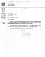 IRS letters about audit