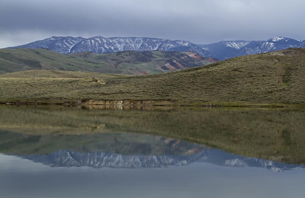 Yellowstone, Bald Ridge Reflection (Kathy Lichtendahl - click to enlarge)