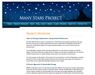 Many Stars CTL __ Project Overview