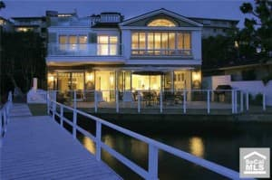 Mike Ruffatto bought this waterfront home at 105 Bayside Place, Corona del Mar, California, in 2004 for $7.8 million.
