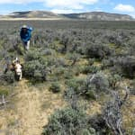 Search for water at Steamboat Mountain