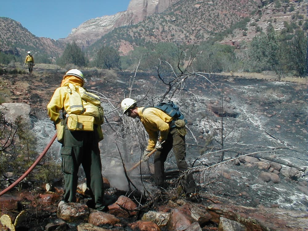WILDFIRE: Battle lines drawn over fixing budget crisis