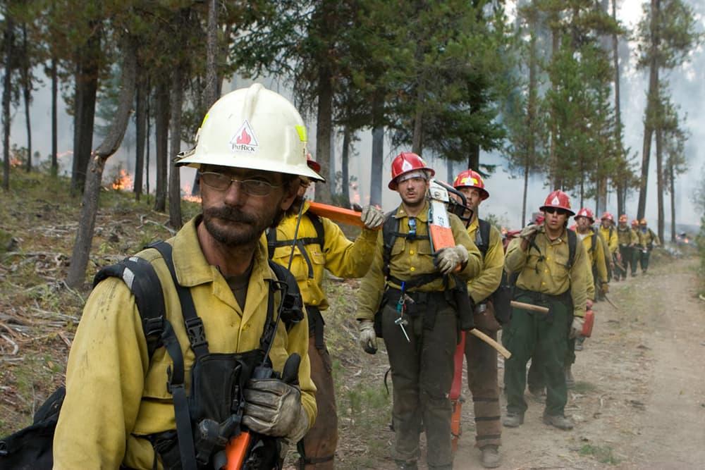 Retired firefighters; wildland colleagues in danger