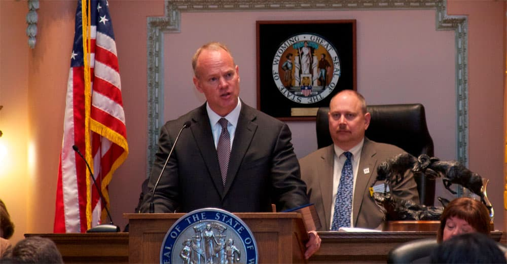 Gov. Matt Mead is seeking a second term. One of his first acts as governor was to join a lawsuit against the federal Affordable Care Act.