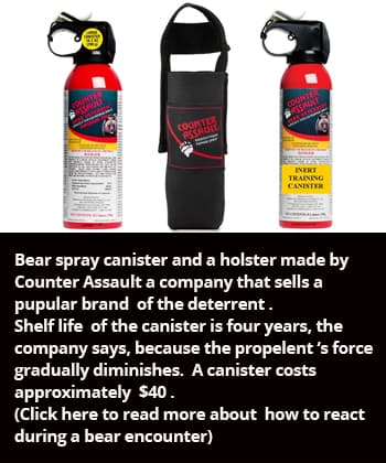 Bear- spray-canister