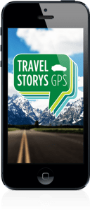 Travel Story GPS is an app meant to connect people to places and the landscape using stories about the area's history.