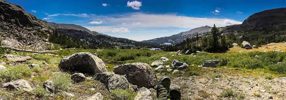 On the West Tensleep Trail en route to Helen Lake in the Cloud Peak Wilderness of the Bighorn Mountains of Wyoming (Jason Plett/Flickr - click to enlarge)