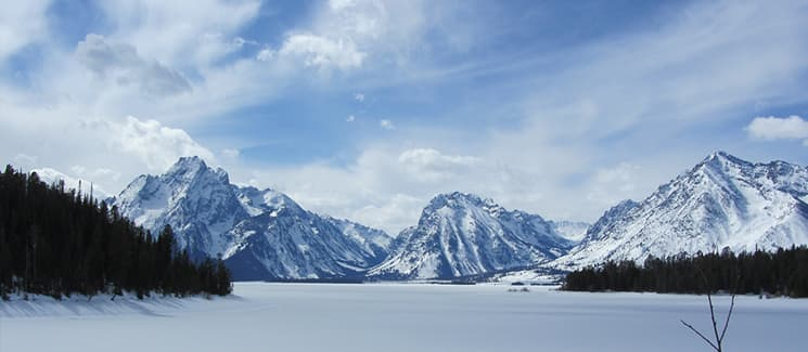 Winter transforms Grand Teton