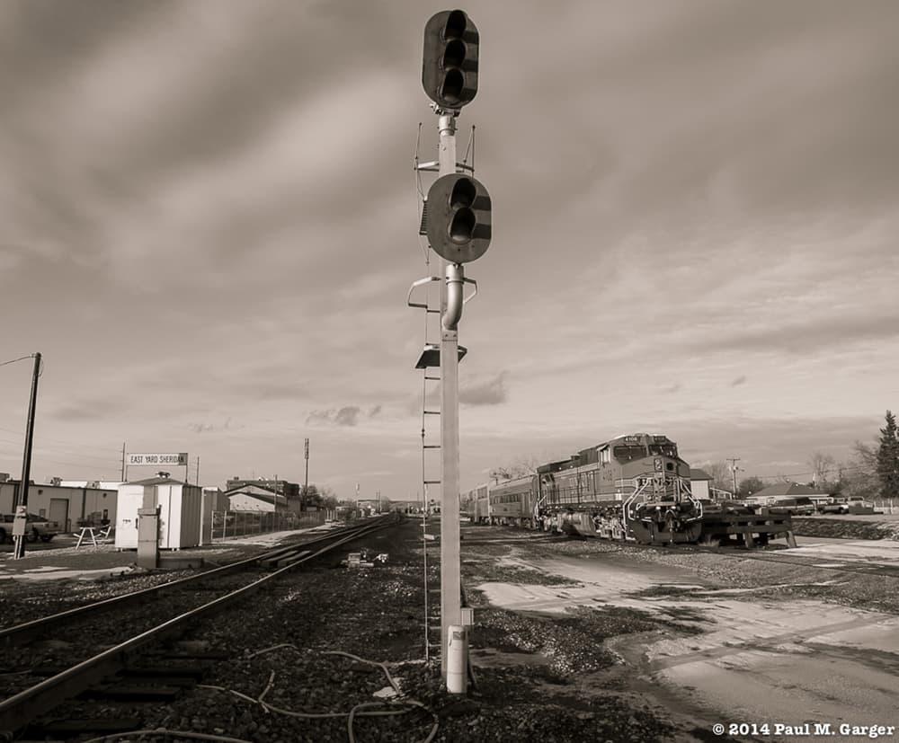 The Burlington Northern Santa Fe business train