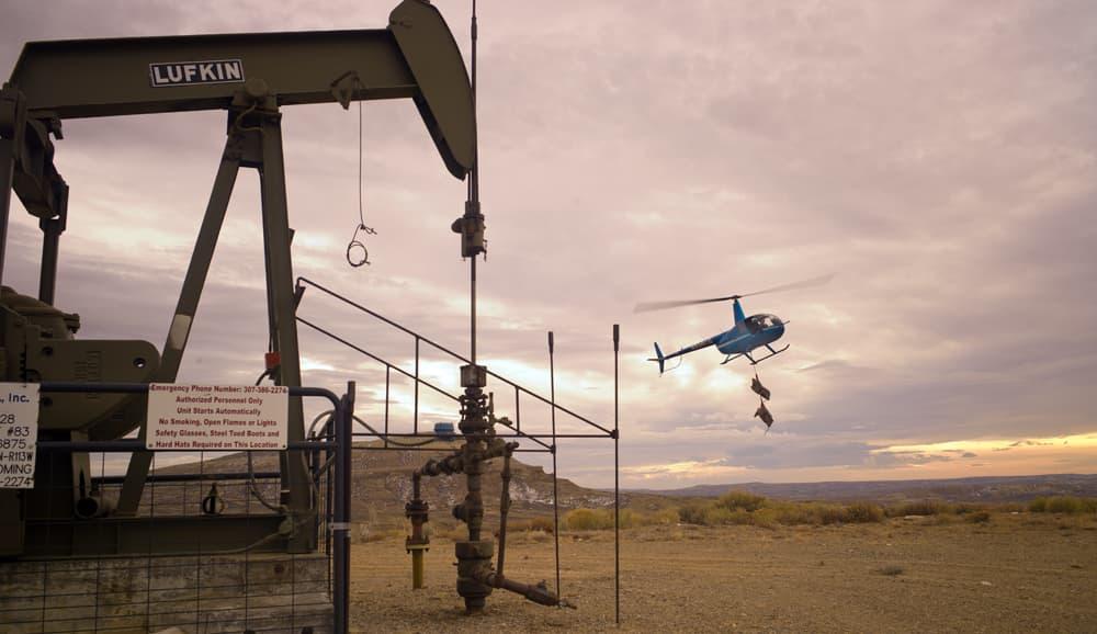 Pump jack landing
