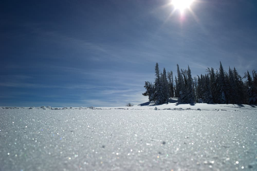 Cloud-seeding programs could increase the winter snowpack by provoking additional precipitation from certain storms. The goal is to augment normal spring runoff. (Angus M. Thuermer Jr./WyoFile)