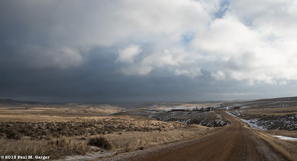 Neath A Dynamic Winter's Sky
