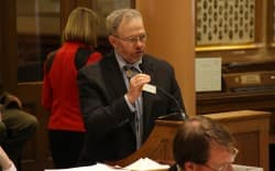 Rep. Albert Sommers (R-Pinedale) supported a Wyoming budget amendment to restore the original pay raise for teachers recommended by Gov. Matt Mead (R) and the Joint Education Committee. (Gregory Nickerson/WyoFile)