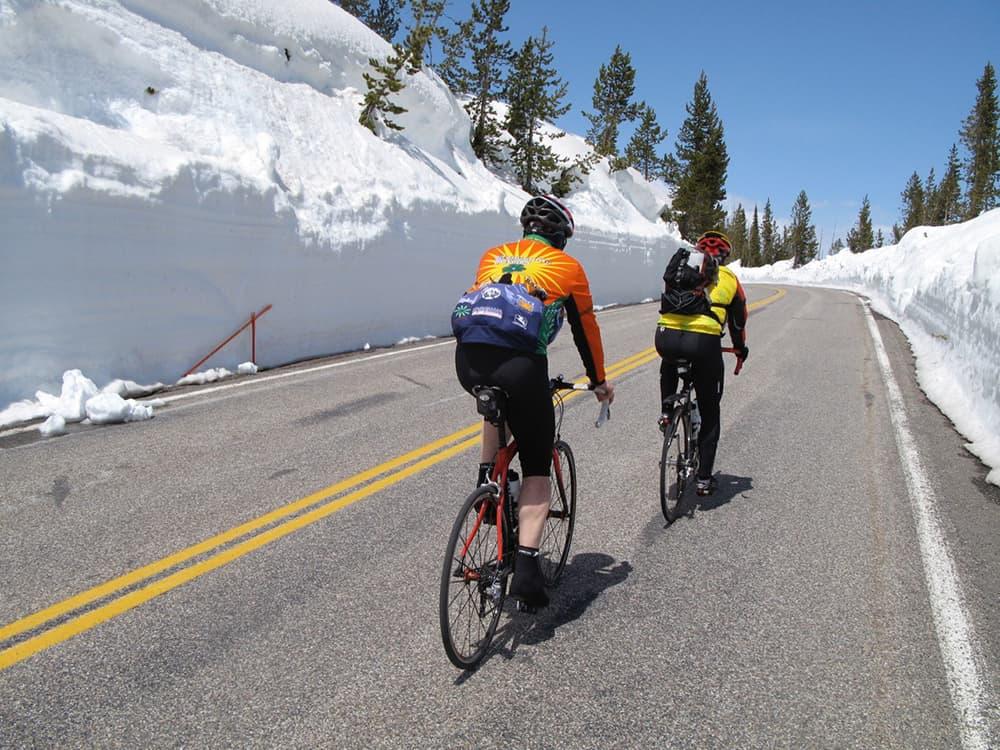 Spring awakening: Bike touring Wyoming's national parks